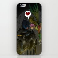 bats iPhone & iPod Skins featuring Bats by Kaan Demircelik