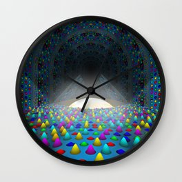 The Lights Convention Wall Clock