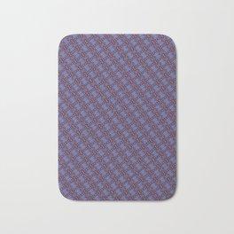 Petal Time Purple Angle Bath Mat