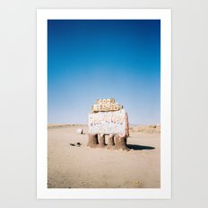 Salvation Mountain  Art Print