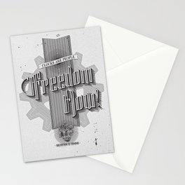 Freedom Now! - Machine Liberation Front Stationery Cards
