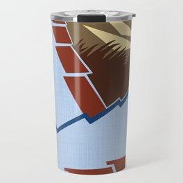 AGONDA Art Deco Modern: BIG SKY RANCH Travel Mug