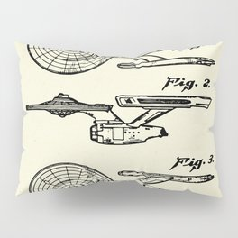Starship Enterprise Startrek -1981 Pillow Sham