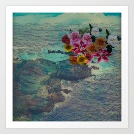 Floral Pop Art Print