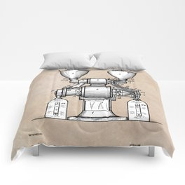patent art Wear Combined Coffee grinder and cleaner 1911 Comforters
