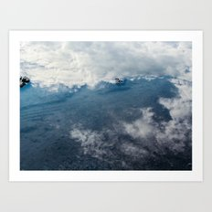 Reflected Sky Art Print