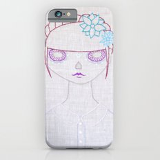 Dia de los Muertos Embroidery Slim Case iPhone 6s