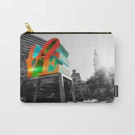 LOVE Park and City Hall - Philadelphia Carry-All Pouch