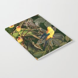 Floral and Birds XXXVI Notebook