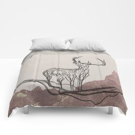 Mountain (Closer Than You Know) Comforters