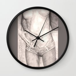 let's take a shower... Wall Clock