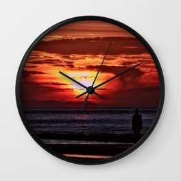 As the Sun goes down Wall Clock
