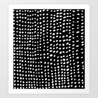 dots Art Prints featuring Dots by Marie Yates