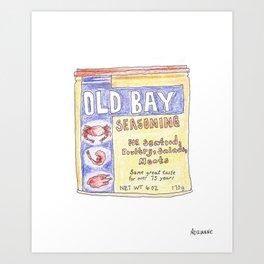 OLD BAY Art Print