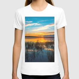 Sunset on the river T-shirt