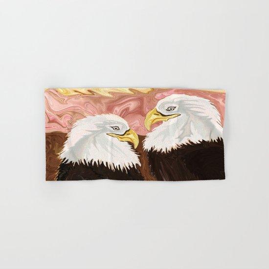 Freedom's Princess Bald Eagles Hand & Bath Towel