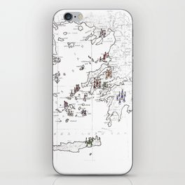 Greece iPhone Skin