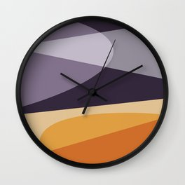 Empty Spaces Wall Clock