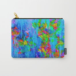 Blue Wash Jazzy Abstract Carry-All Pouch