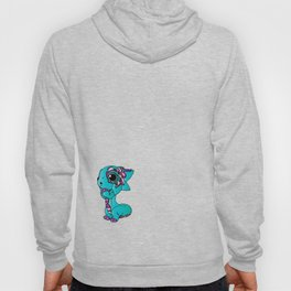 Baby Dragon in Bright Colors Hoody