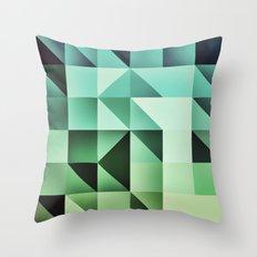:: geometric maze III :: Throw Pillow