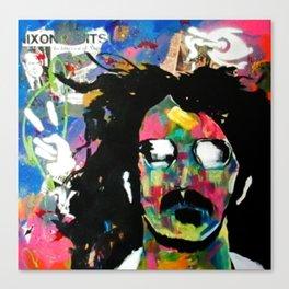 Frank Zappa Pop Art Canvas Print