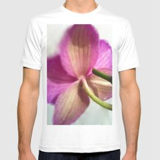 ORCHID Mens Fitted Tee White MEDIUM