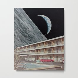 The Edge Motel Metal Print