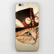 Punk Cat iPhone & iPod Skin