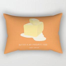 Andy Loves Butter Rectangular Pillow