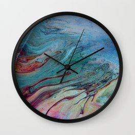 That Touch of Teal Wall Clock