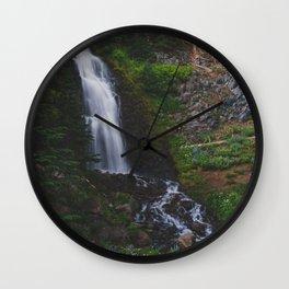 Obsidian Falls - Pacific Crest Trail, Oregon Wall Clock