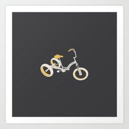 tricycle 03 Art Print