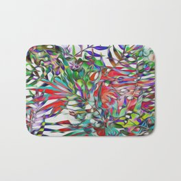 Jungle-tropics Bath Mat