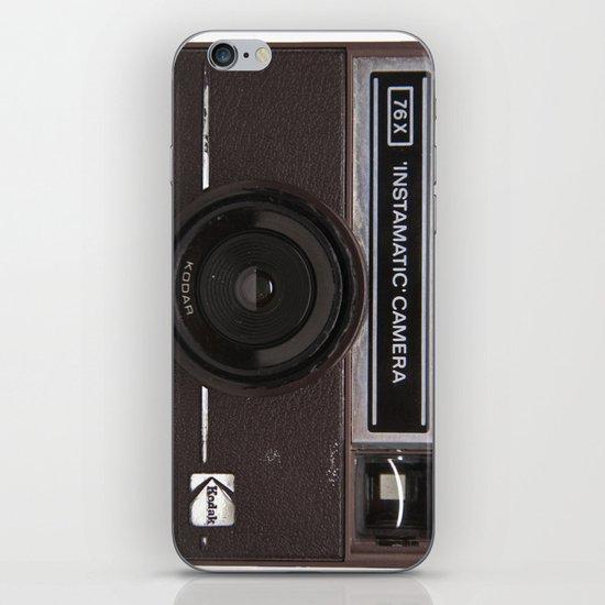 Instamatic Camera 2 iPhone & iPod Skin