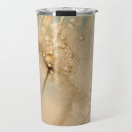 dandelion gold and mint Travel Mug