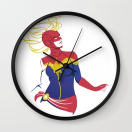 Oh Captain my Captain Wall Clock