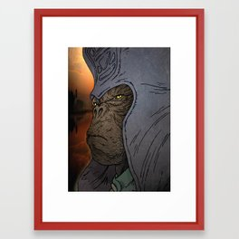 General Urko  Framed Art Print