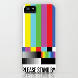 Color Bars iPhone Case