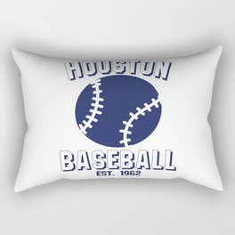 Houston Baseball Baseball Bat USA Rectangular Pillow