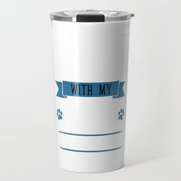 I Workout to Keep Up with My Boston Terrier T-Shirt Travel Mug