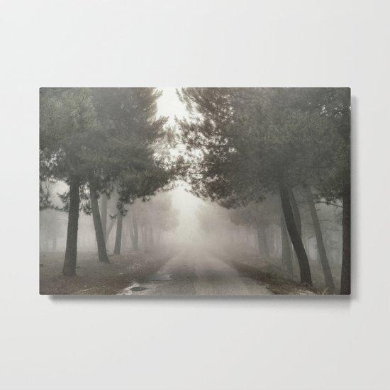 Mystery road.... Metal Print