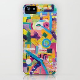 The Rainbow City iPhone Case