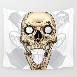 Skull 002 Wall Tapestry