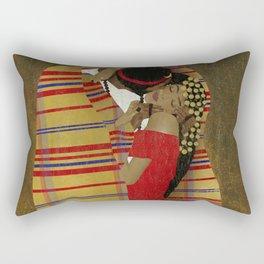 """Al Bousa """"The Kiss"""" Rectangular Pillow"""