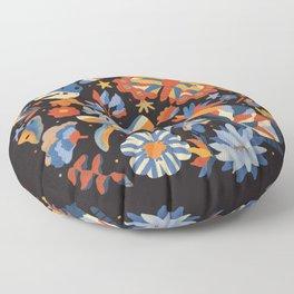 Jardin de papillons Floor Pillow