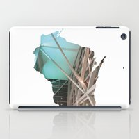 wisconsin iPad Cases featuring Wisconsin ii by Isabel Moreno-Garcia