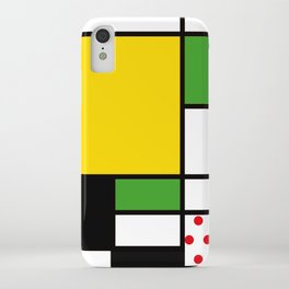 Mondrian – Bycicle iPhone Case