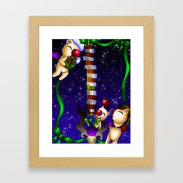 Fusion Keyblade Guitar #181 - Mogry of Glory & Decisive Pumpkin Framed Art Print