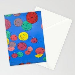 Penang Umbrellas Stationery Cards